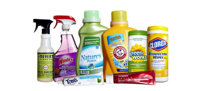 For Cleaning products
